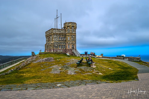 """Cabot Tower on Signal Hill"" 12""x 18"" print"