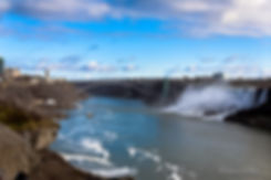 Niagara Falls and Rainbow Bridge