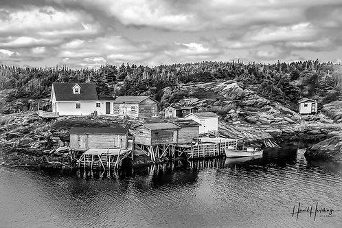 """Bragg's Island, Bonavista Bay, Newfoundland"" 12""x 18"" print"
