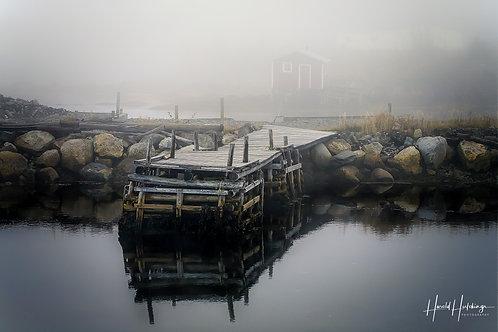 """""""The Wharf"""" 12"""" x 18"""" print"""