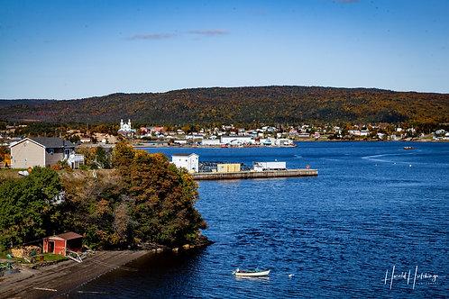 """St. Alban's, Newfoundland"" 12"" x 18"" Print"