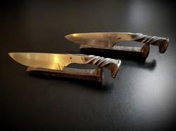 Railroad Spike Knives