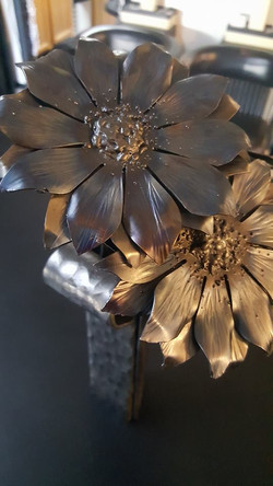 Hand Forged Daisies