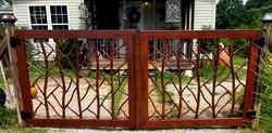 Custom Hand Forged Gate
