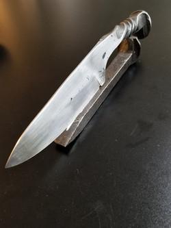 Custom Handforged Railroad Spike Knife