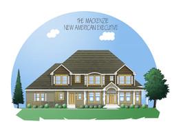 New American style Mackenzie