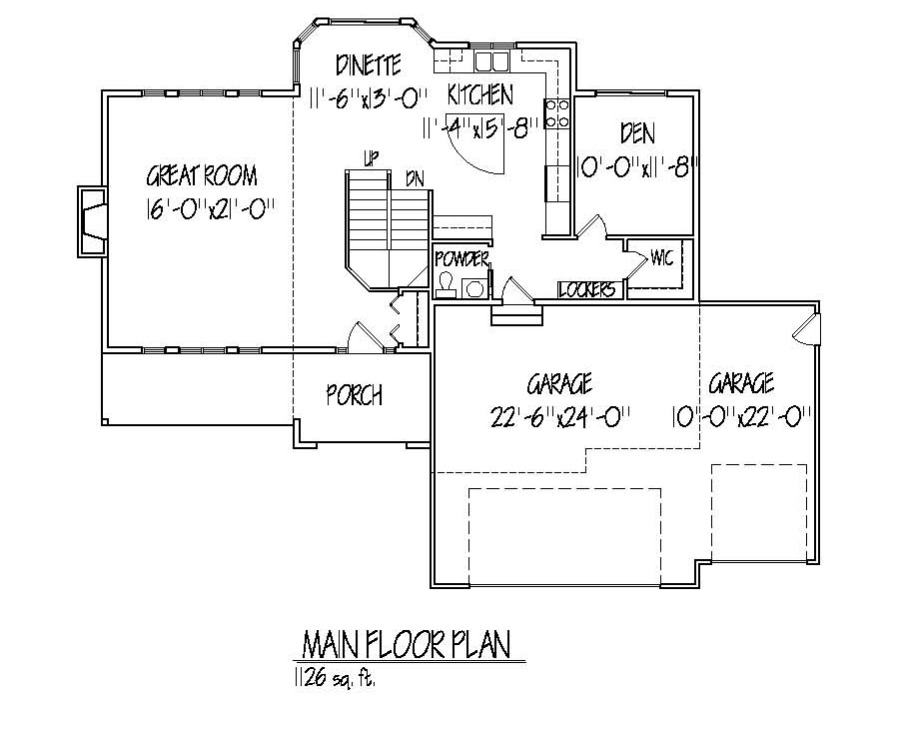Jackson Main Floor plan