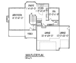 Jackson Main Floor plan