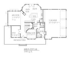 Mackenzie Main Floorplan