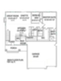 The Arro main floorplan