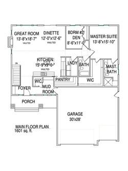 Main floorplan Arro