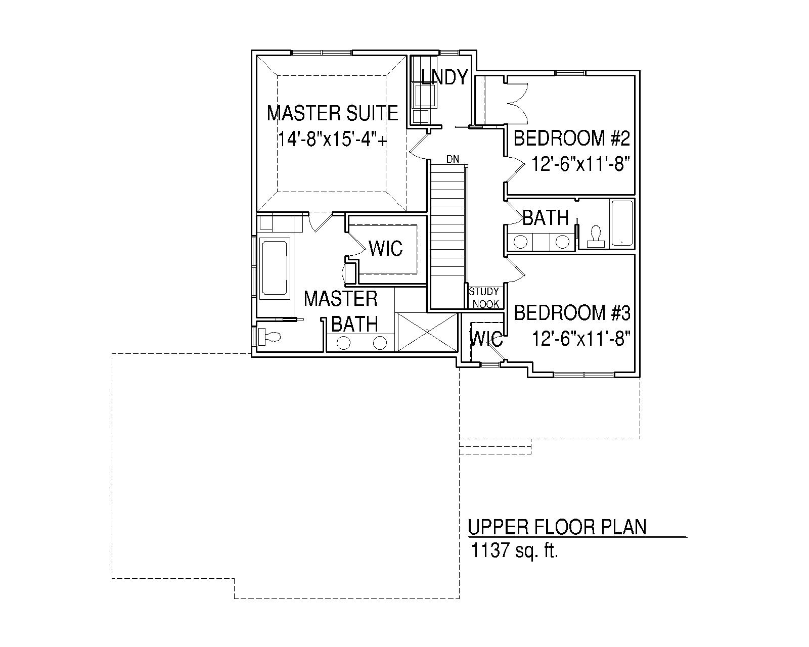 Rachael Upper Floorplan