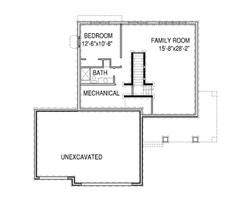 Rachael Basement floor plan