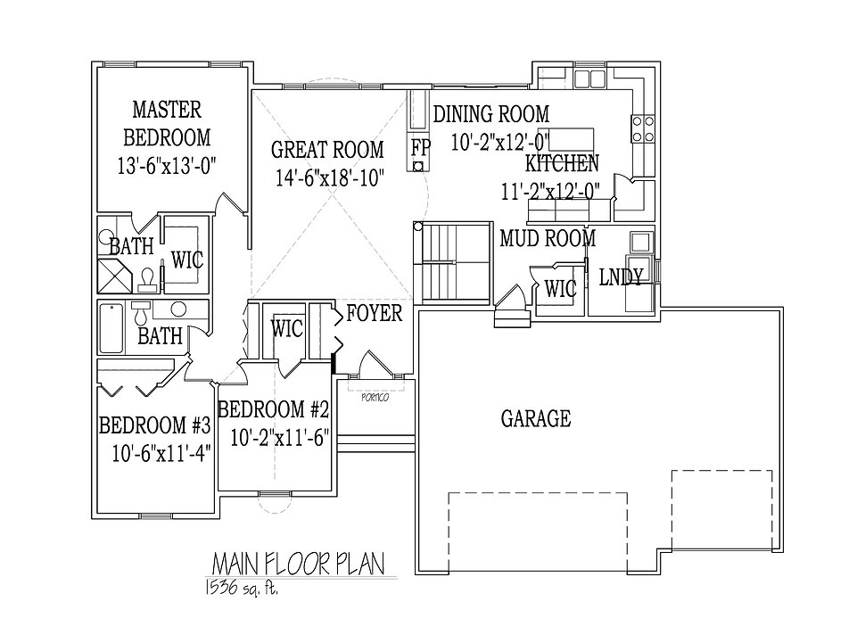 Rambler Floorplan Gracie