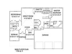 Rambler floorplan The Harrison