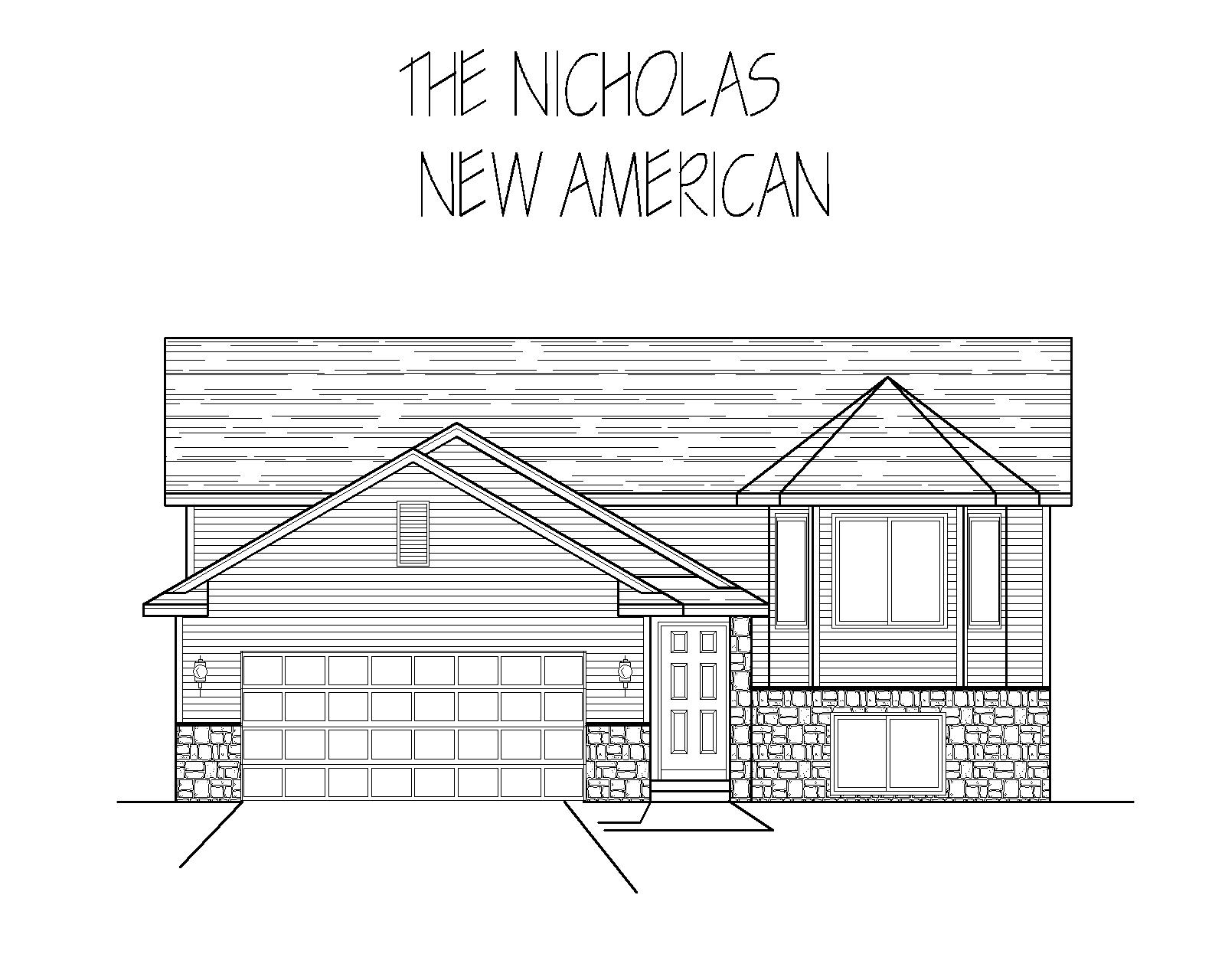 New American style Nicholas