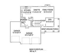 Main floorplan The Jeanette