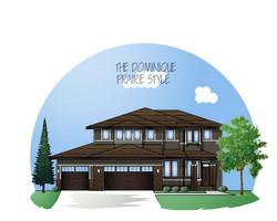 Prairie style exterior