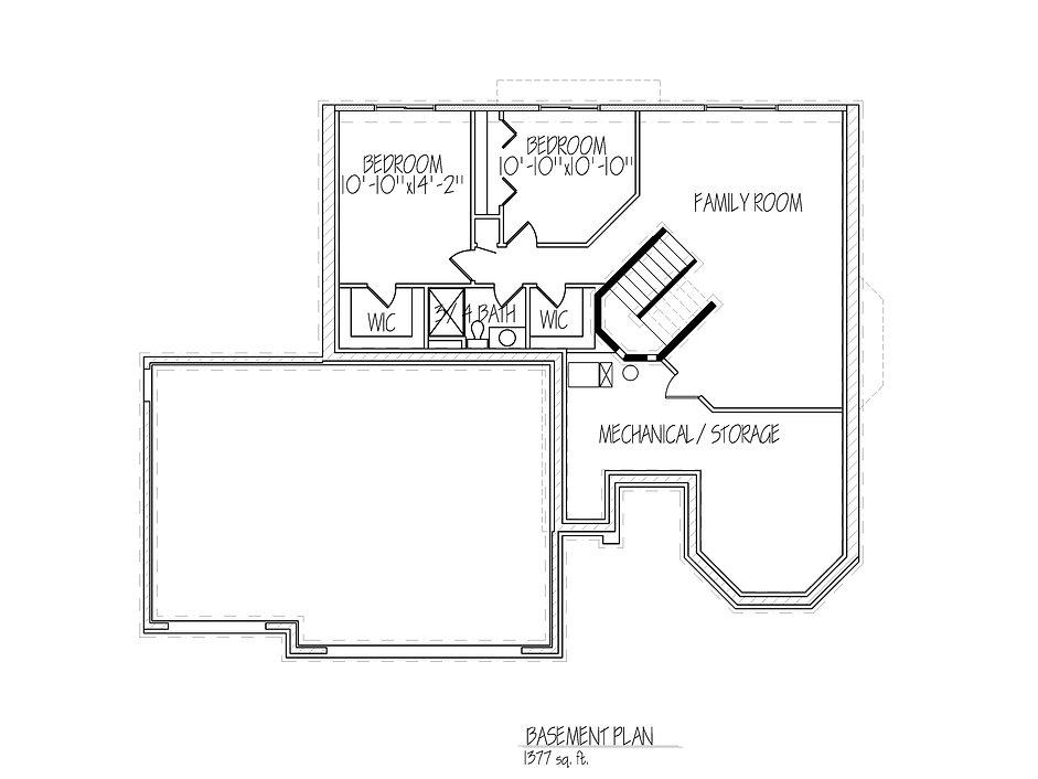 Basment Floorplan Lauren