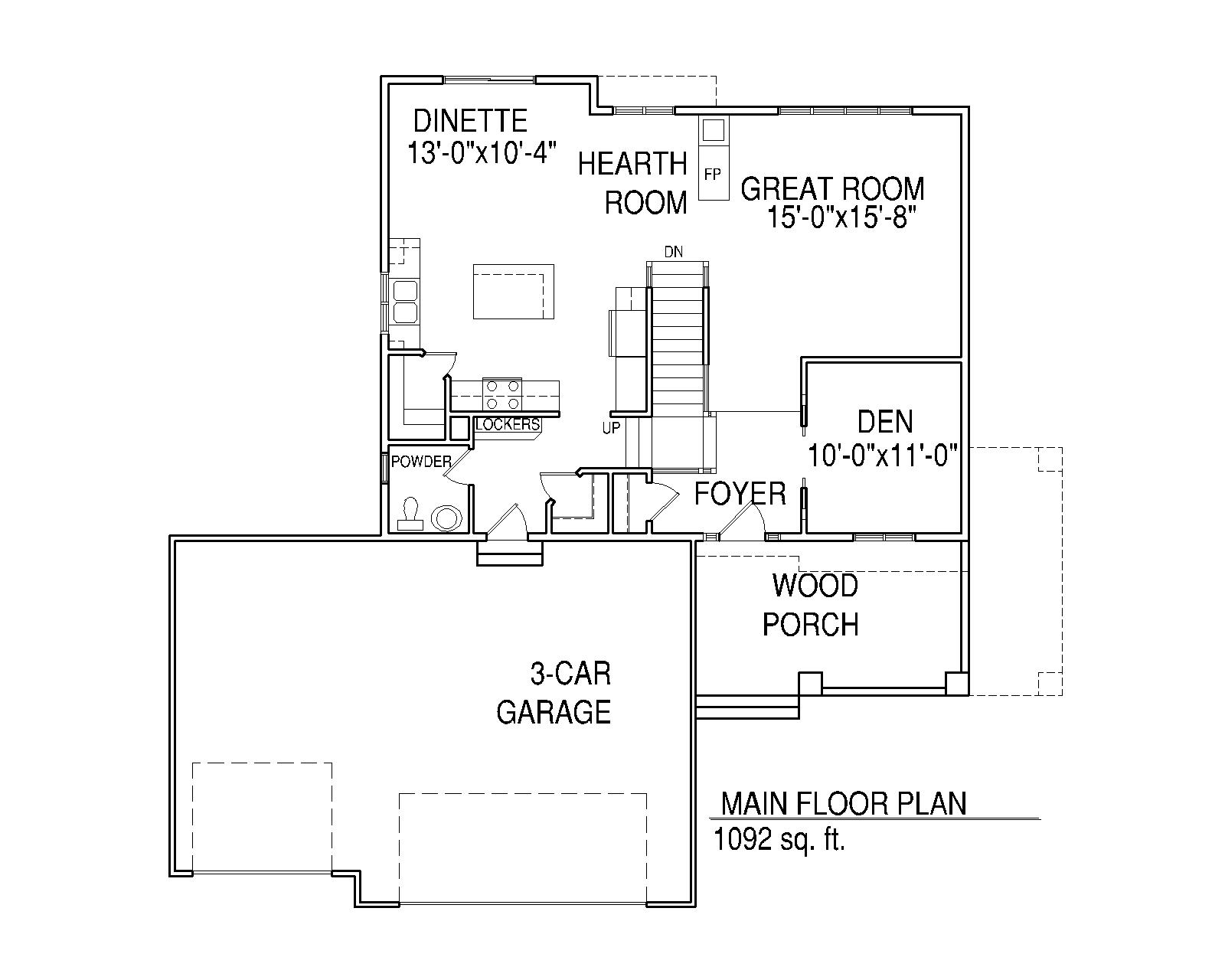 Rachael Main floor plan
