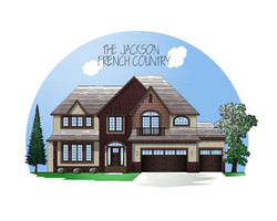 French Country exterior style