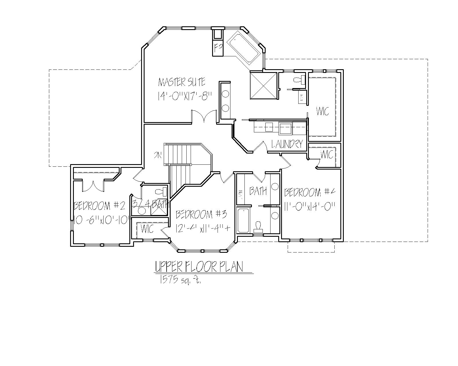 Mackenzie Upper Floorplan