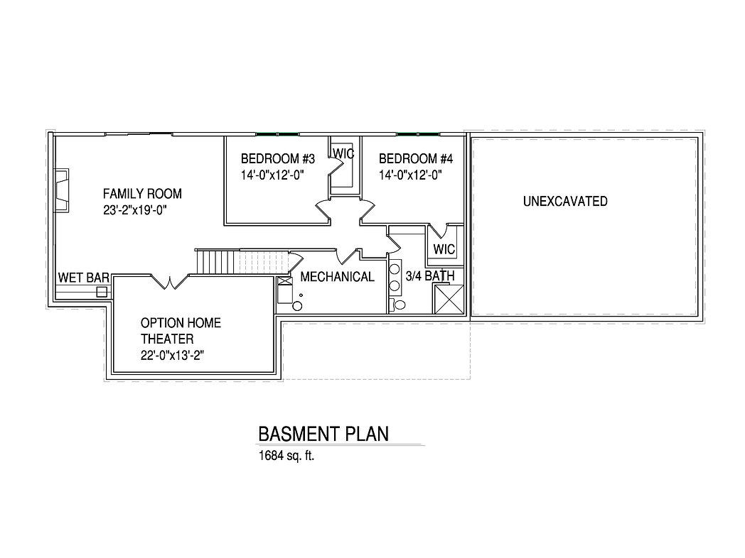Basement Floorplan Kathlyn