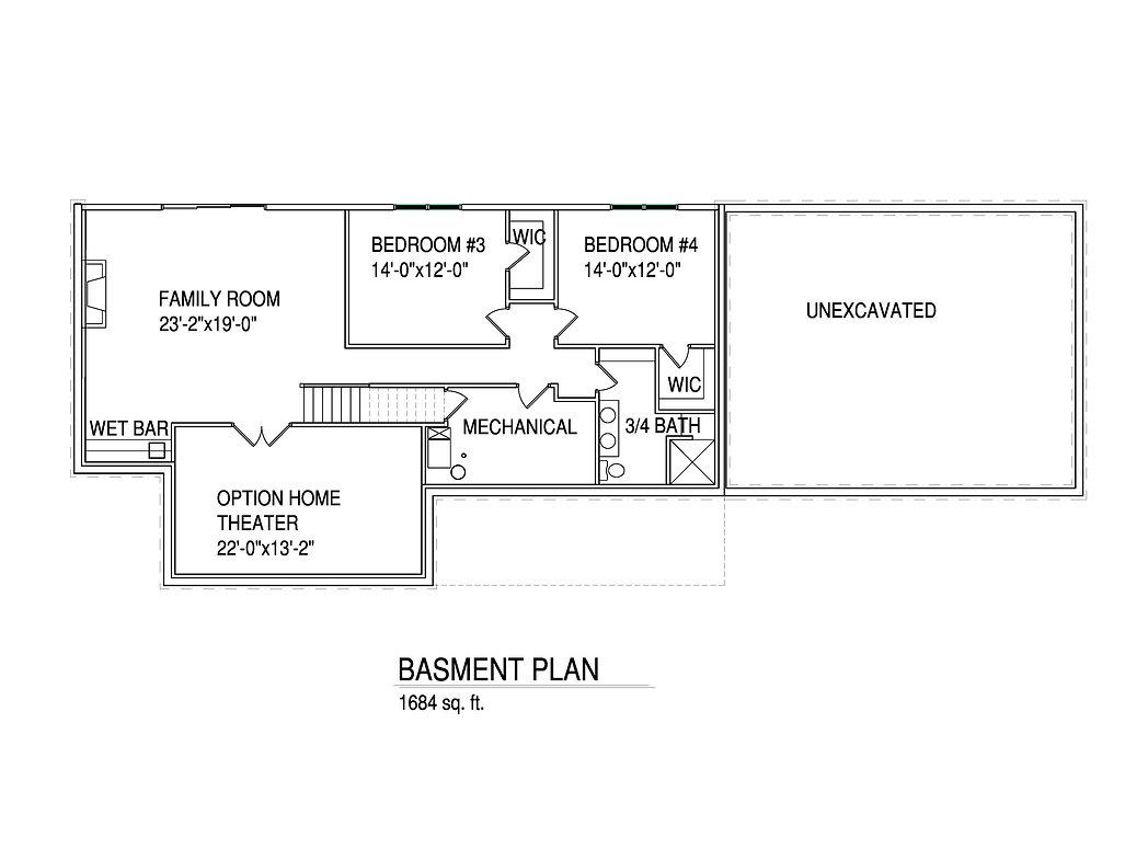 Basement Floorplan Kathlyn