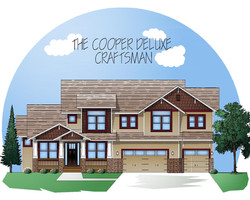Craftsman style the Cooper Deluxe
