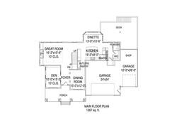Cooper Deluxe Main floorplan