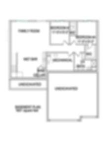 basement floorplan The Arro