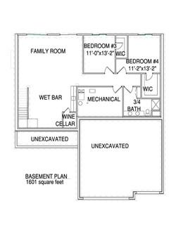 Basement floorplan Arro