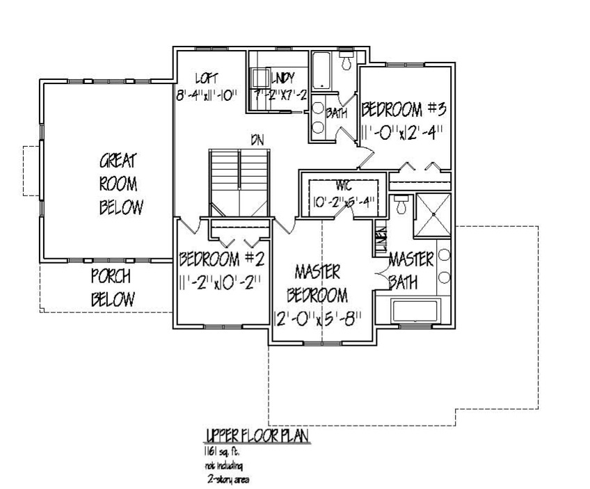 Jackson Upper Floor plan