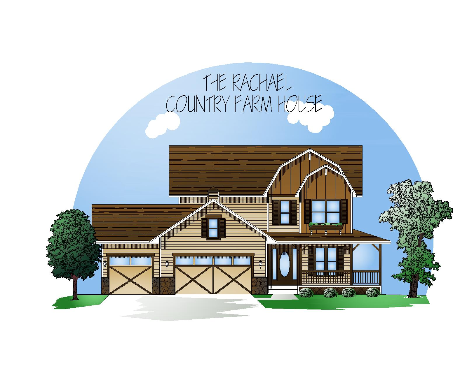 Country Farmhouse style exterior