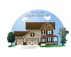 Country Farmhouse style exterior