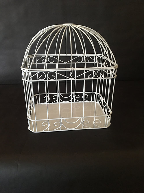 White Card Cage