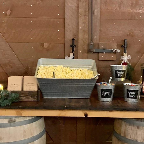 Popcorn Bar Display #11
