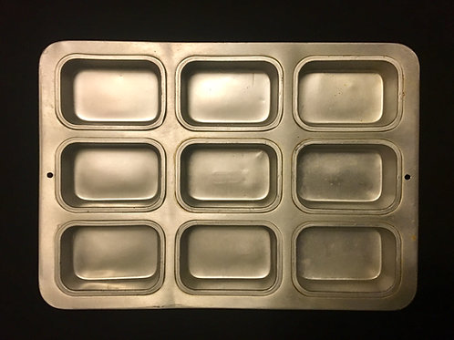Mini 9 Loaf Cake Pan