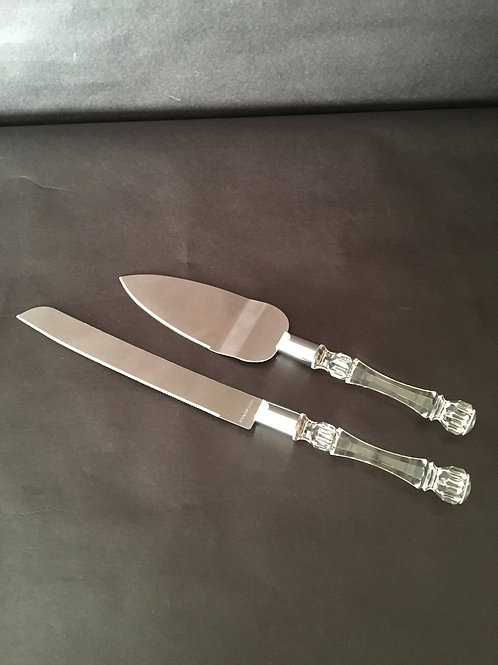 Cake Serving Set Clear