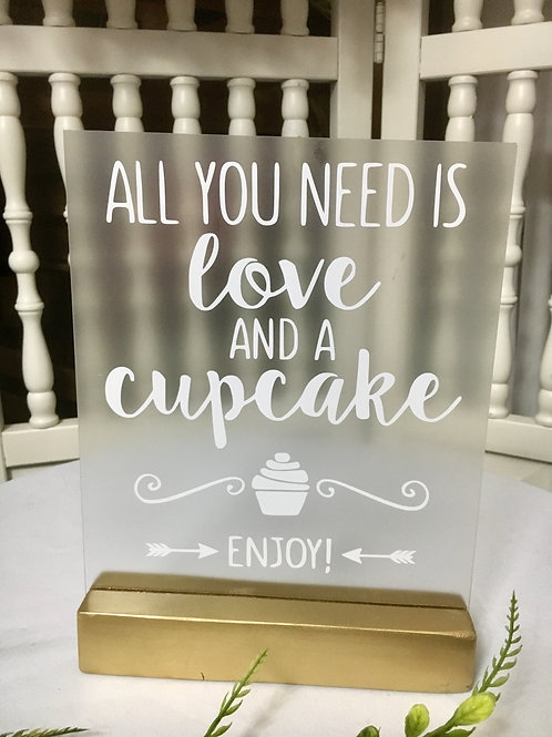 All you need is Love and a Cupcake