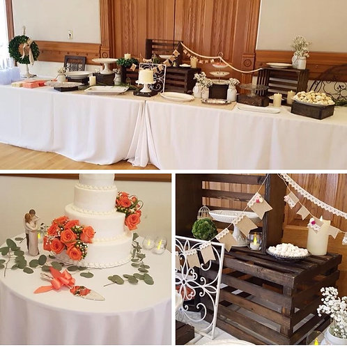 Crate Buffet Table Church House