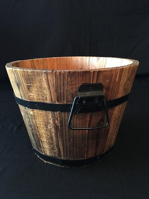 Mini Half Whiskey Barrel