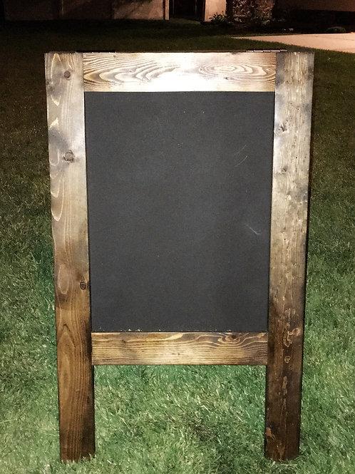 """A"" Frame Chalkboard Easel"