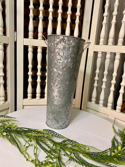 Galvanized Sparkler Vase