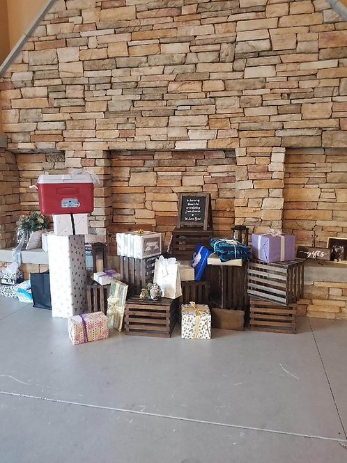 Crate Gift Area