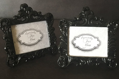 "Black Table Numbers/Photo Holder 2""x3"""