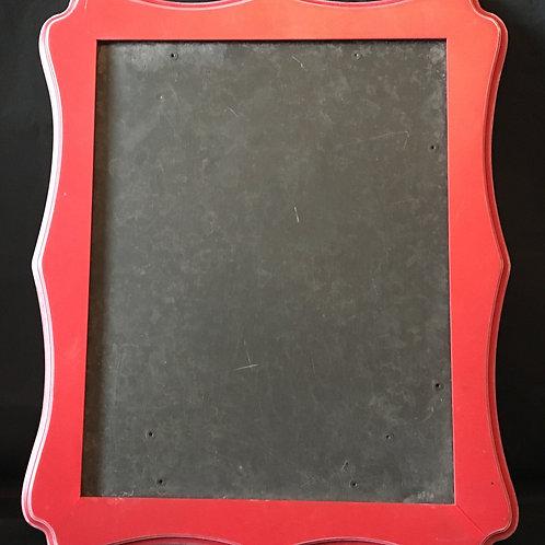 Small Red Chalkboard Paint Chalkboard
