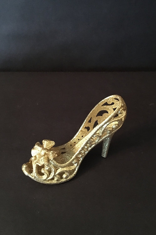 Gold Cinderella Shoes