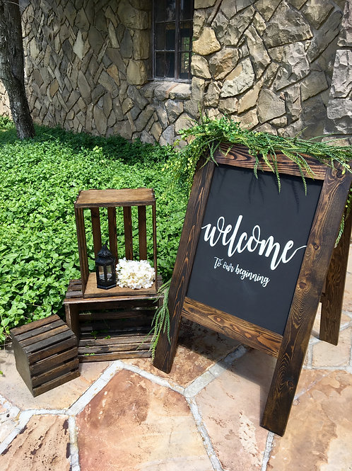 """Welcome to our Beginning """"A"""" Frame"""