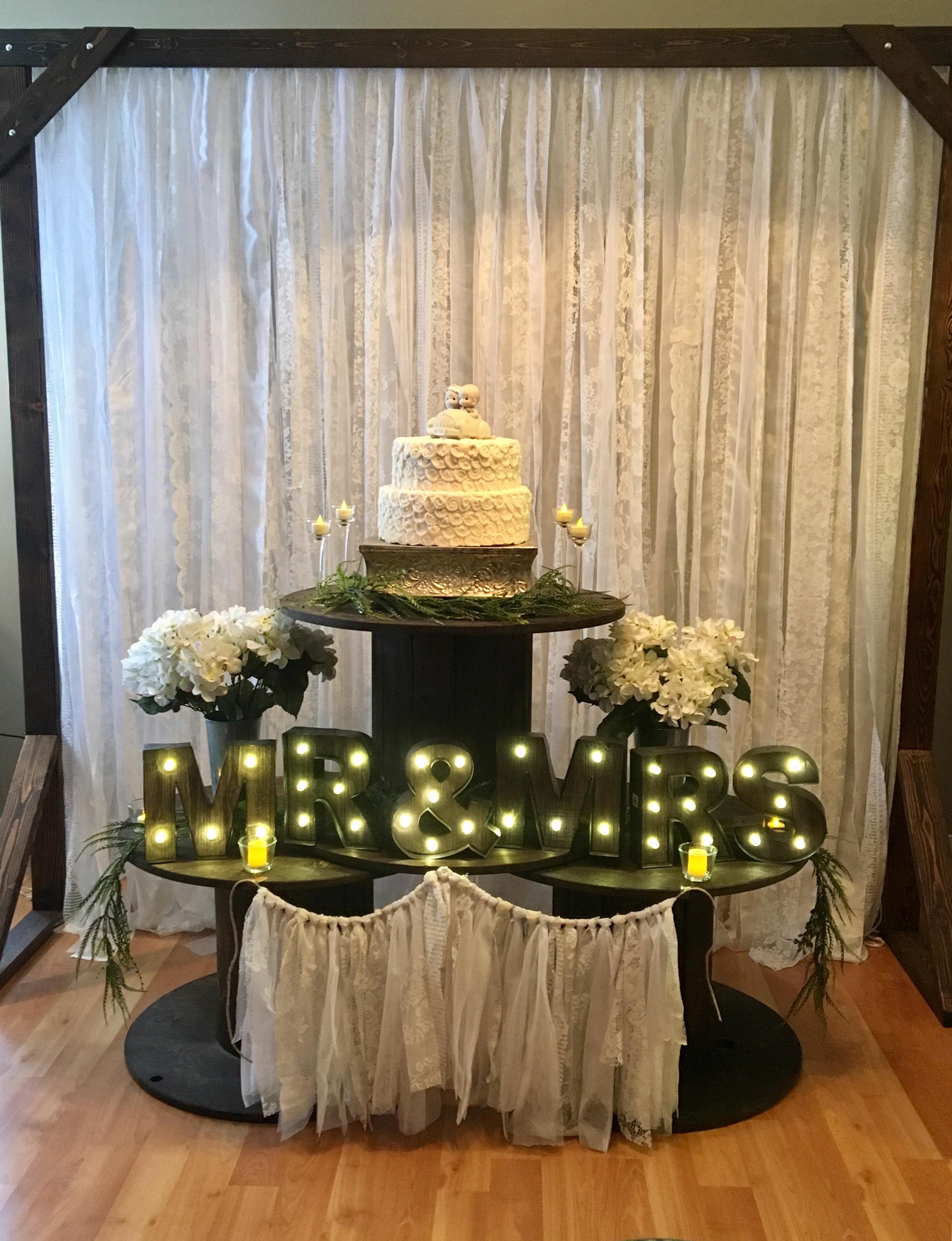 Spools Cake Stand